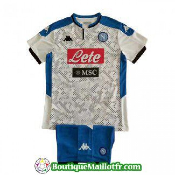 Maillot Naples Enfant 2019 2020 Neutre