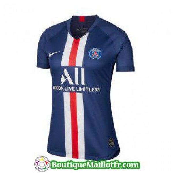 maillot paris saint germain femme 2019 2020 domici...