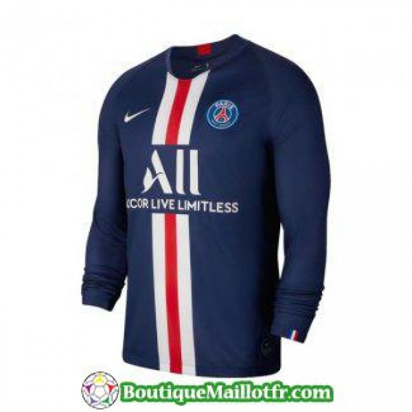 maillot paris saint germain manche longue 2019 202...