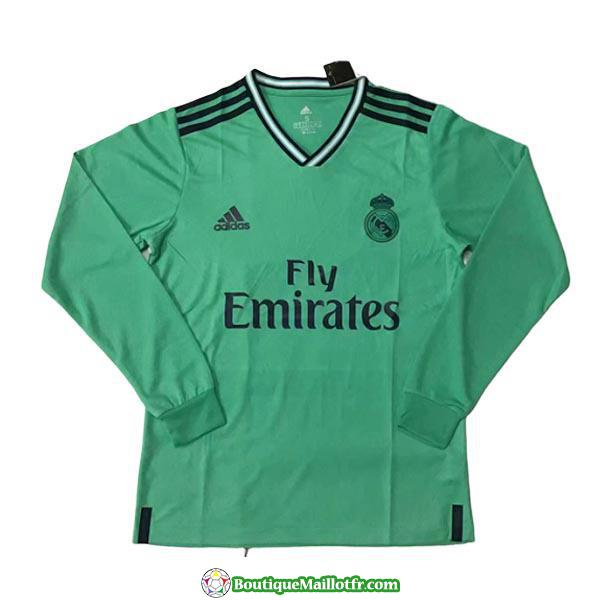 Maillot Real Madrid Manche Longue 2019 2020 Neutre