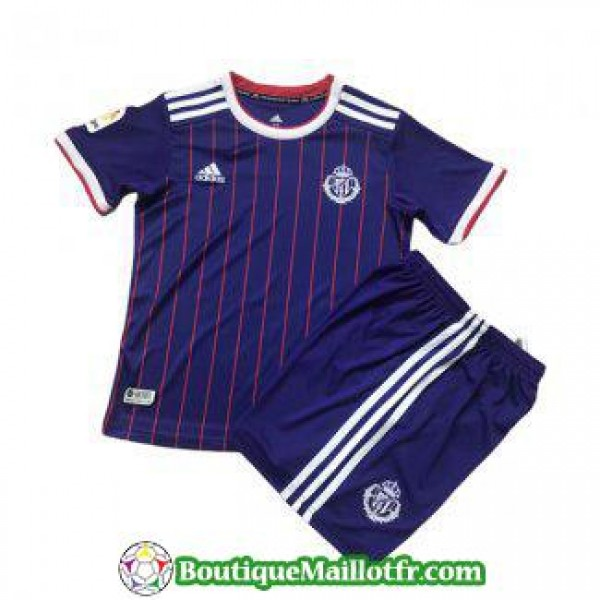 Maillot Real Valladolid Enfant 2019 2020 Exterieur