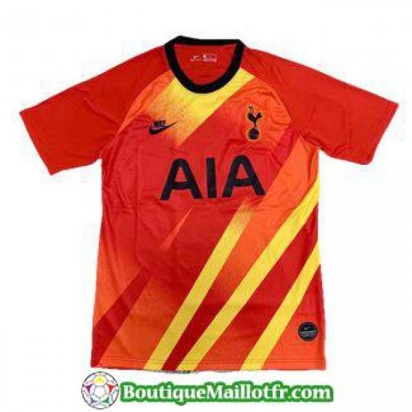 Maillot Tottenham Hotspur Gardien 2019 2020 Rouge ...