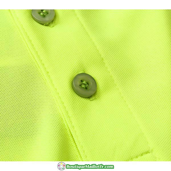 Polo Kit Barcelone Entrainement 2019 2020 Jaune Vert