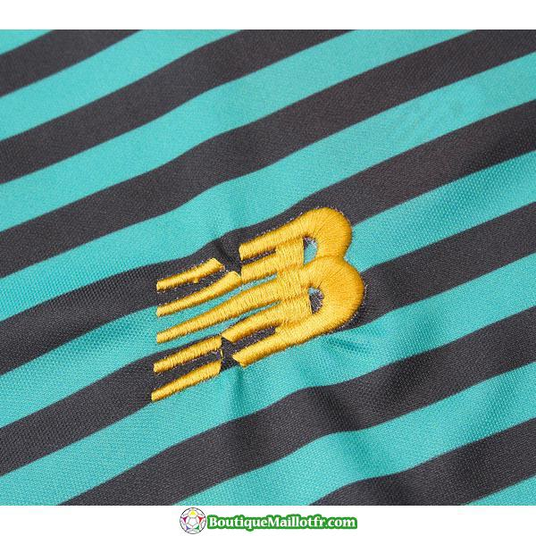 Polo Kit Liverpool Entrainement 2019 2020 Rayure Vert