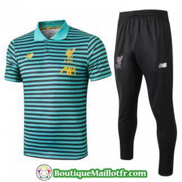 Polo Kit Liverpool Entrainement 2019 2020 Rayure V...