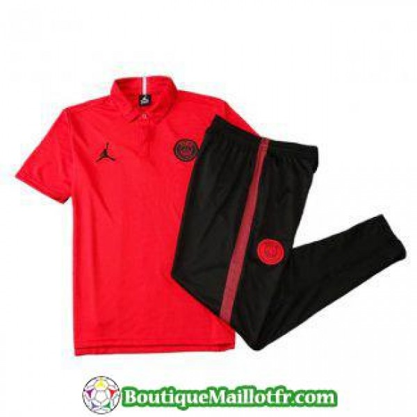 Polo Kit Paris Saint Germain Jordan Entrainement 2...