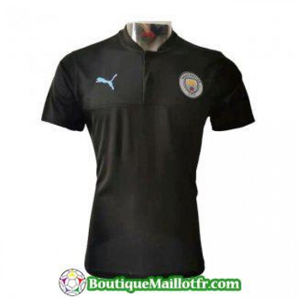 Polo Manchester City 2019 2020 Noir