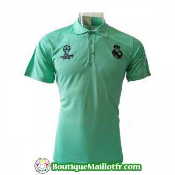 Polo Real Madrid 2019 2020 Champions League Vert