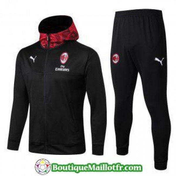 Sweat A Capuche Ac Milan 2019 2020 Ensemble Comple...