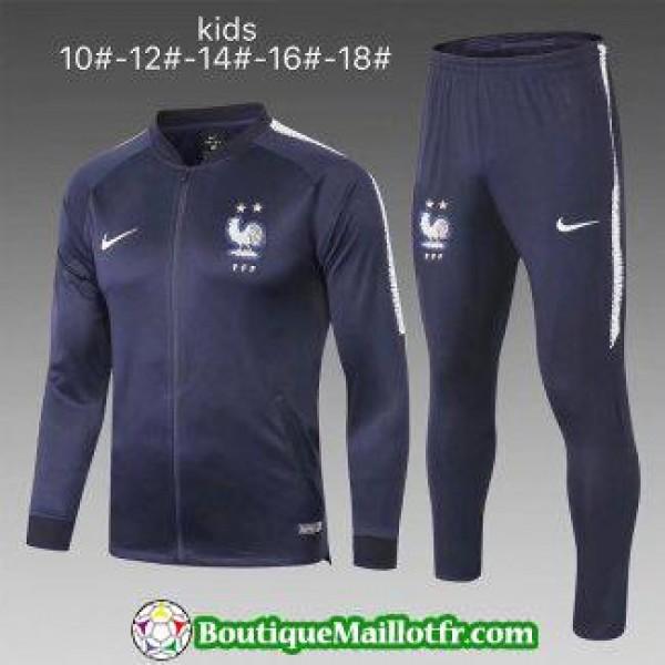 Veste France Deux Etoiles Champion Enfant 2018 Ens...
