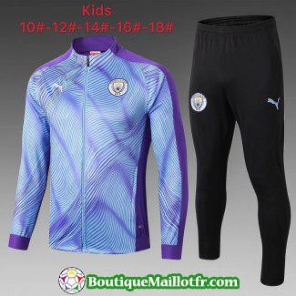Veste Manchester City Enfant 2019 2020 Ensemble Co...
