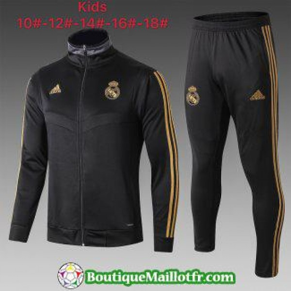 Veste Real Madrid Enfant 2019 2020 Ensemble Comple...