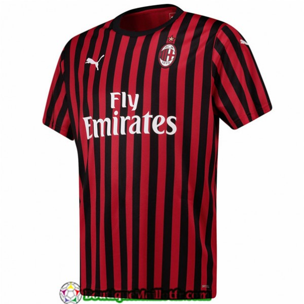 Maillot Ac Milan 2019 2020 Domicile