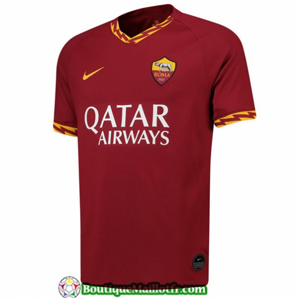 Maillot As Roma Domicile Jujube Rouge 2019 2020
