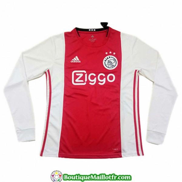 Maillot Ajax 2019 2020 Domicile Manche Longue