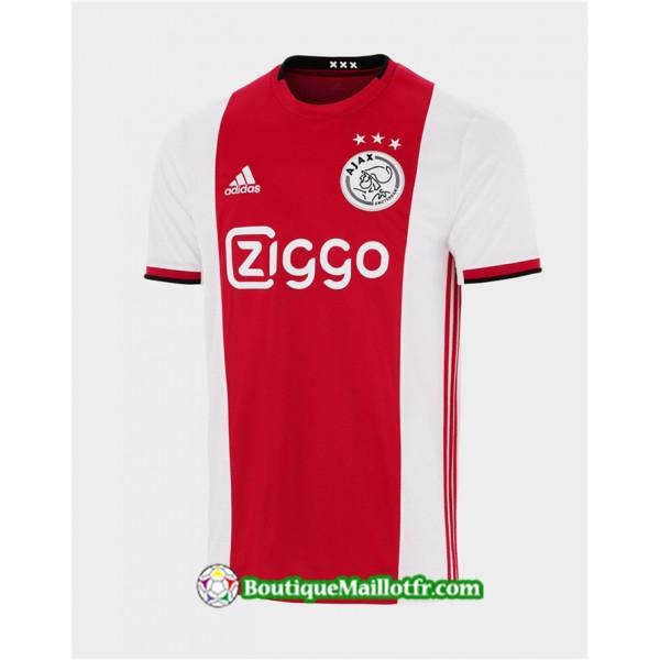 Maillot Ajax 2019 2020 Domicile Rouge Blanc