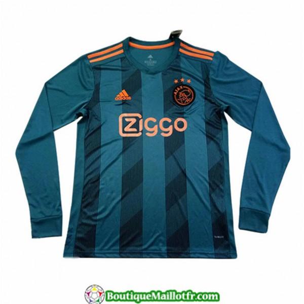 Maillot Ajax 2019 2020 Exterieur Manche Longue
