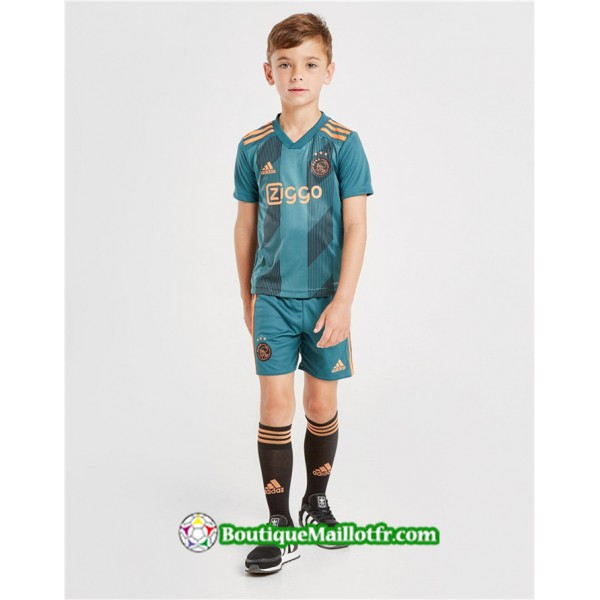 Maillot Ajax Amsterdam Enfant 2019 2020 Exterieur
