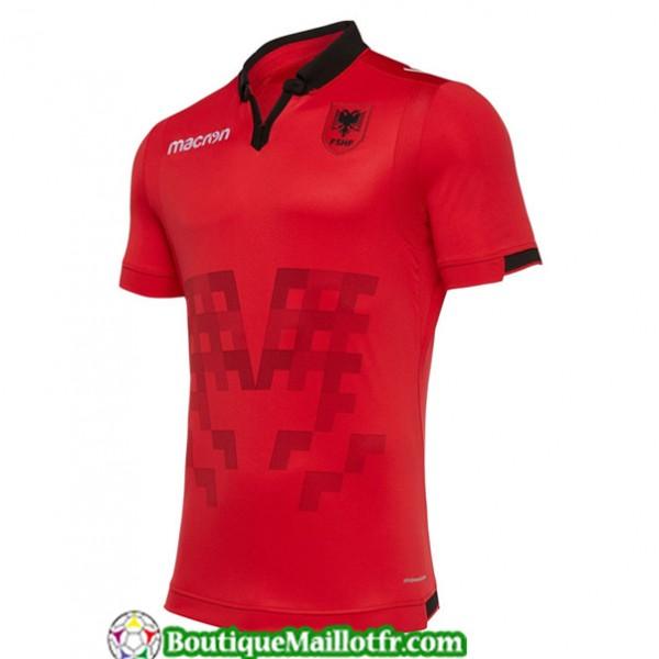 Maillot Albanie 2019 2020 Exterieur Rouge