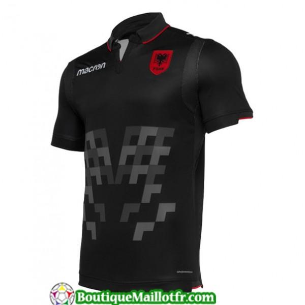 Maillot Albanie 2019 2020 Third Noir
