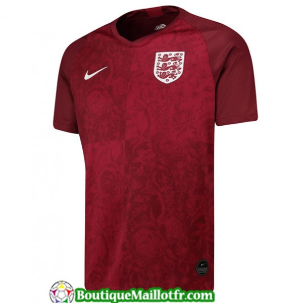 Maillot Angleterre 2019 2020 Exterieur Rouge