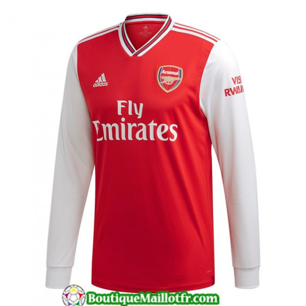 Maillot Arsenal 2019 2020 Domicile Manche Longue