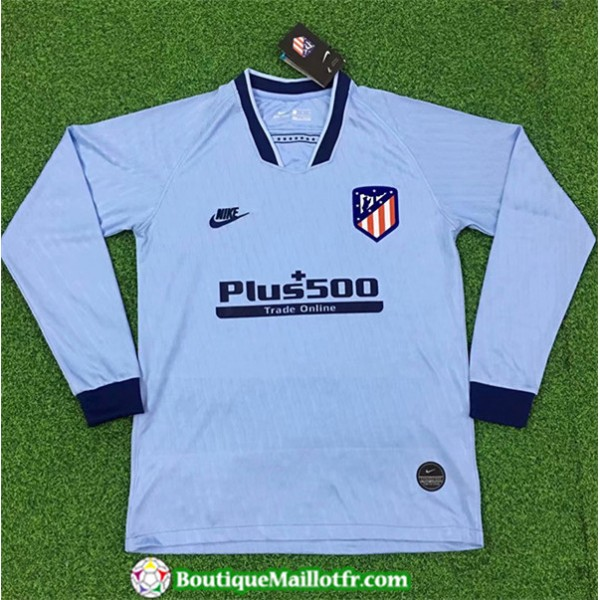Maillot Atletico Madrid 2019 2020 Third Manche Lon...
