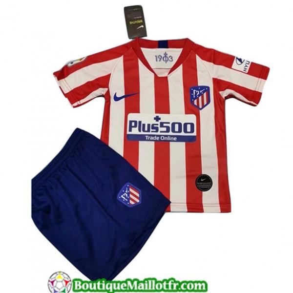 Maillot Atletico Madrid Enfant 2019 2020 Domicile ...
