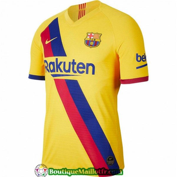 Maillot Barcelone 2019 2020 Exterieur Jaune