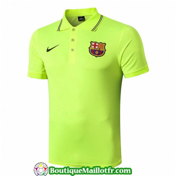 Maillot Barcelone 2019 2020 Polo Vert