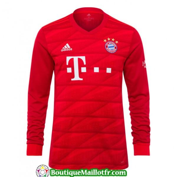 Maillot Bayern Munich 2019 2020 Domicile Manche Lo...