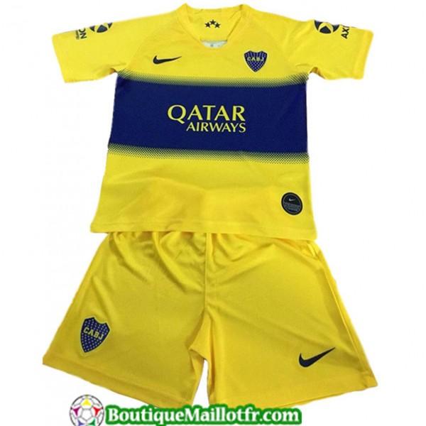 Maillot Boca Juniors Enfant 2019 2020 Jaune/bleu