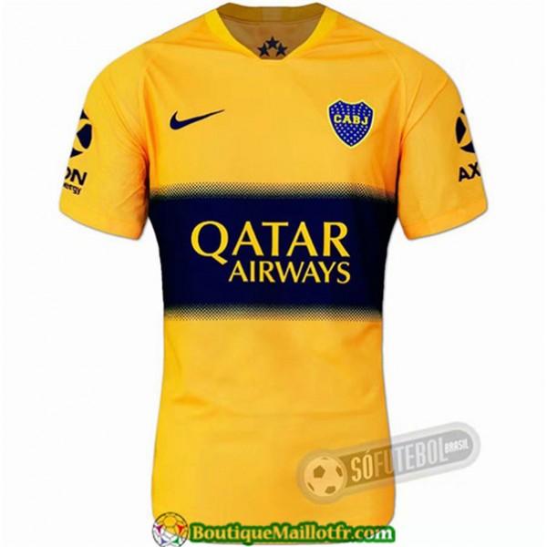 Maillot Boca Juniors 2019 2020 Jaune