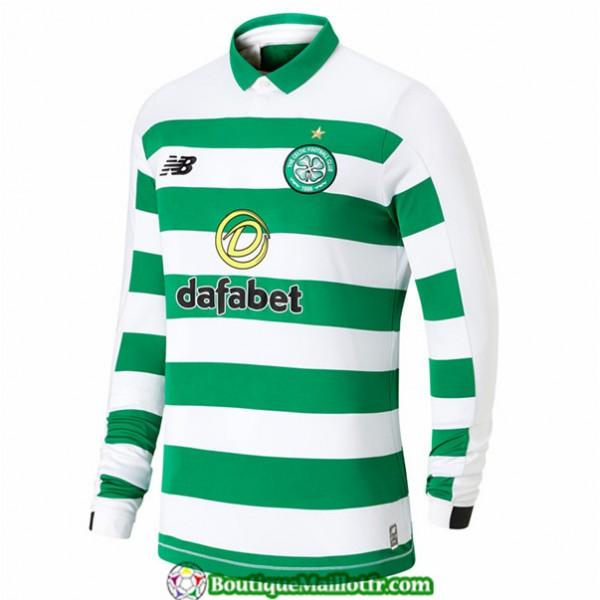 Maillot Celtic 2019 2020 Domicile Manche Longue