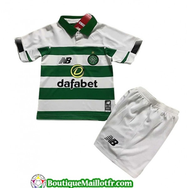 Maillot Celtic Enfant 2019 2020 Domicile Blanc Ver...