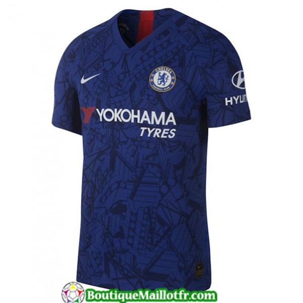 Maillot Chelsea 2019 2020 Domicile Bleu
