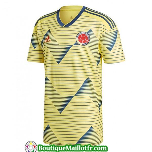 Maillot Colombie 2019 2020 Domicile Jaune