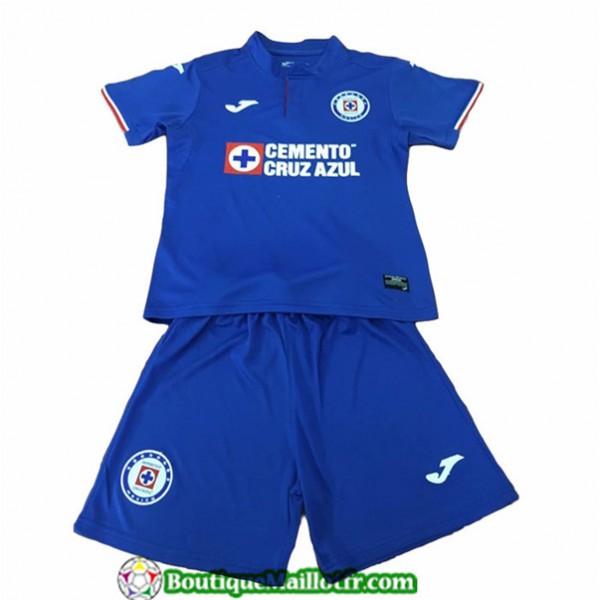 Maillot Cruz Azul Enfant 2019 2020 Domicile Bleu