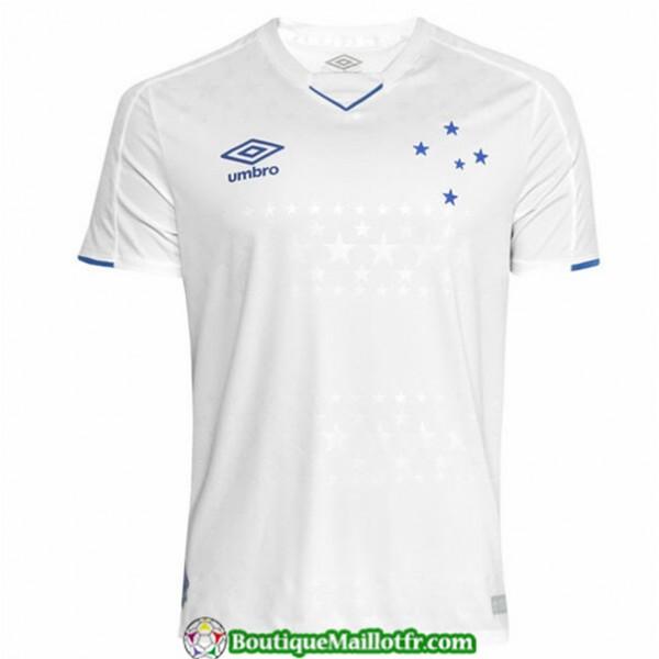 Maillot Cruzeiro 2019 2020 Exterieur Blanc