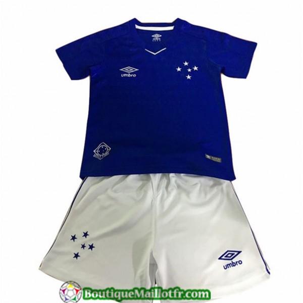 Maillot Cruzeiro Enfant 2019 2020 Domicile Bleu