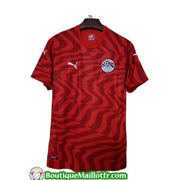 Maillot Egypte 2019 2020 Domicile Rouge
