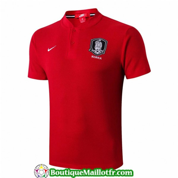 Maillot Entrenamiento Coree 2019 2020 01 Rouge
