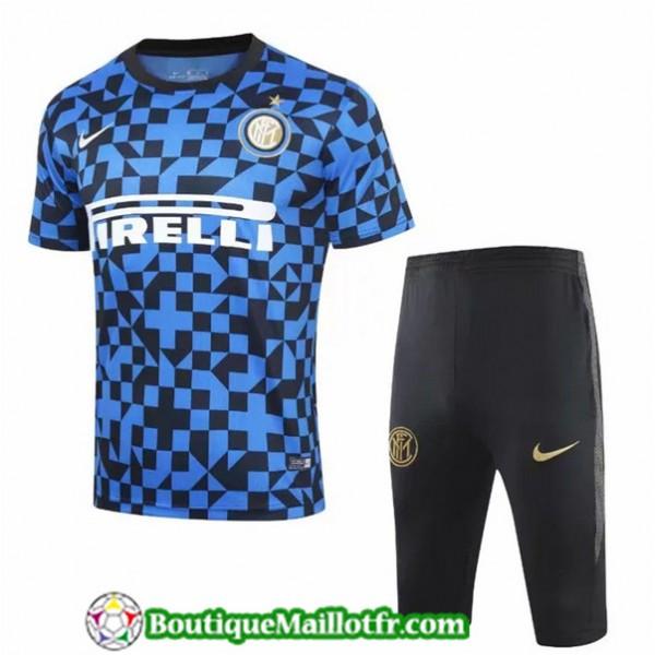 Maillot Entrenamiento Inter Milan 2019 2020 Bleu/n...