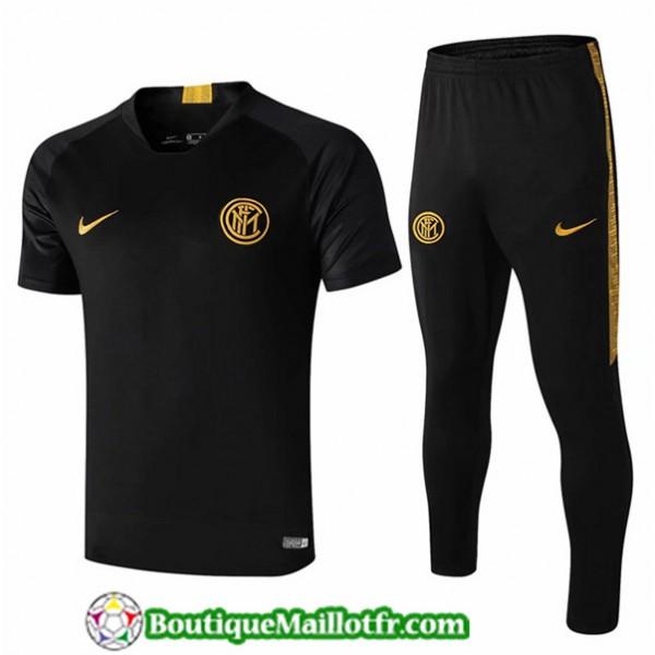 Maillot Entrenamiento Inter Milan 2019 2020 Noir