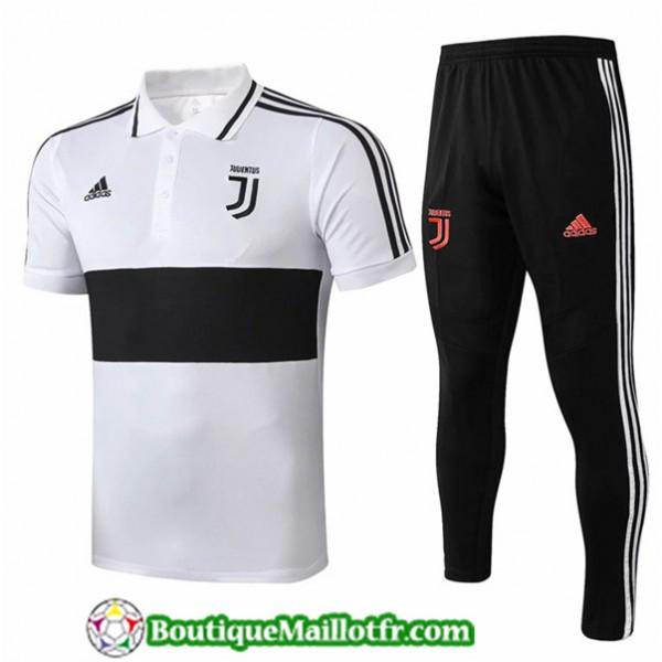 Maillot Entrenamiento Juventus 2019 2020 Polo Blan...