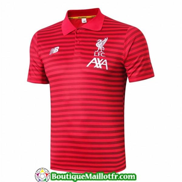 Maillot Entrenamiento Liverpool 2019 2020 Polo Rou...