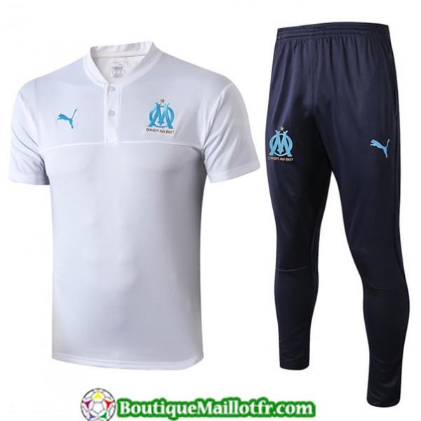 Maillot Entrenamiento Marseille 2019 2020 Blanc/bl...