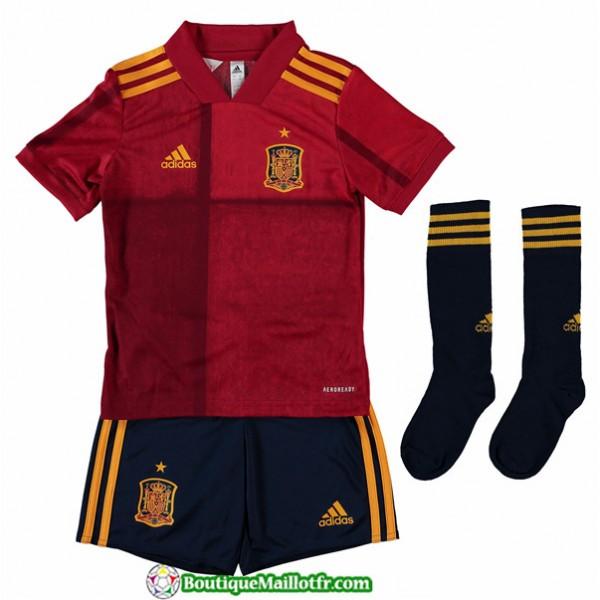 Maillot Espagne Enfant Uefa Euro 2020 Domicile