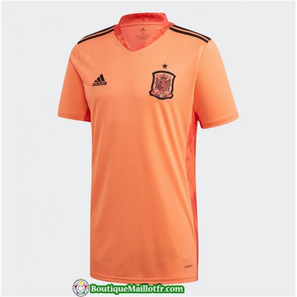 Maillot Espagne Gardien De But Uefa Euro 2020 Domicile