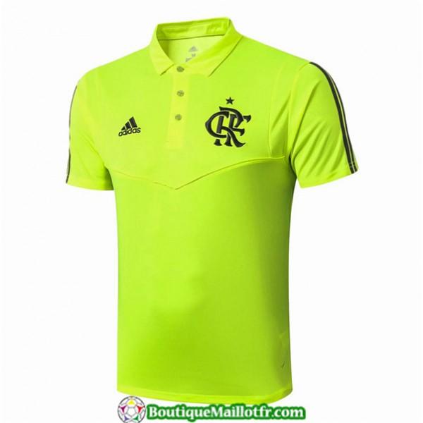 Maillot Flamengo 2019 2020 Pre Match Vert Polo